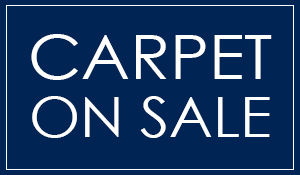 Carpet on sale starting at $1.30 sq.ft. installed with cushion!