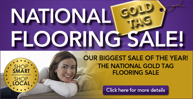 National Gold Tag Flooring Sale